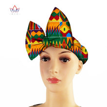 2020 African Multi-Color Headtie African Print Handmade Fashion African Bow Shape Headwrap Hair Accessories WYA013 african symbolism