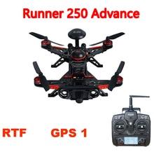 Walkera Runner 250 Advance GPS RC Racing Drone Quadcopter  with DEVO 7 /OSD / 800TVL Camera / Original box RTF GPS 1 Version