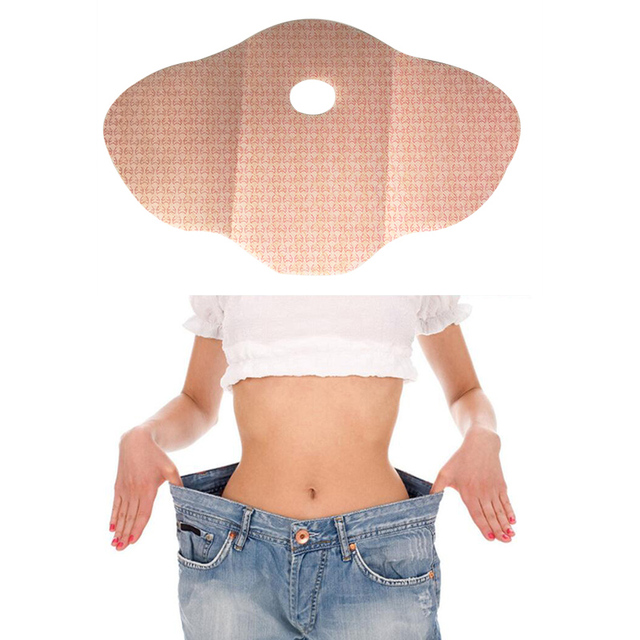 30 Day 10Pc Mymi Wonder Patch Quick Slimming Patch Belly Slim Patch Abdomen Fat burning Navel Stick Slimer Face Lift Tool