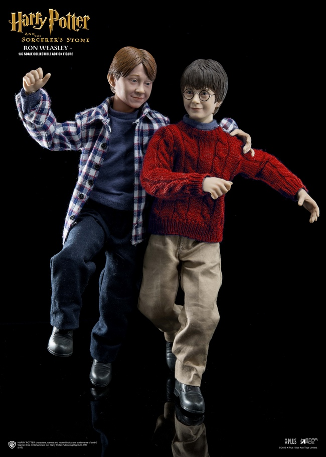 "ФОТО 1/6 scale 24cm harry potter or ron weasley (casual wear).figure doll model.12"" action figure doll.collectible figure model"