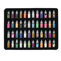 2016 New Women 48 bottles nail art charms kit contain random nail art pearl/sequin/glitter powder/acrylic/rhinestone