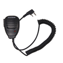 Baofeng  Handheld Microphone Speaker MIC for walkie talkie UV-5R Portable two way radio Pofung UV 5RE Plus UV-B5 BF-888S UV-82