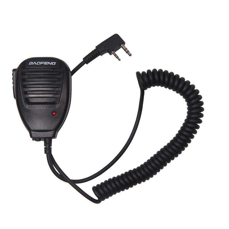 imágenes para Radio Altavoz Micrófono de mano de MICRÓFONO para Walkie Talkie Radio de Dos Vías Portable Pofung UV-5R BF-888S BaofengUV-5R Accesorios