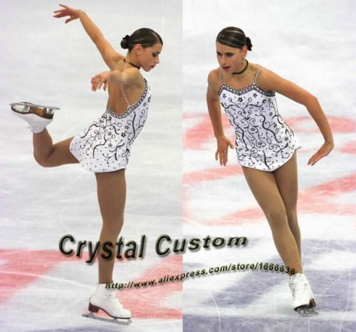 Ice Figure Skating Dresses For Girls Fashion New Brand Competition Skating Clothing DR3355