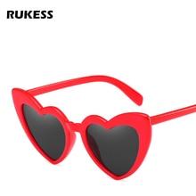 d160799742 RUKESS 2018 Fashion Love Heart Sunglasses Women Vintage Cat Eye Sun Glasses  Best gift for Birthday