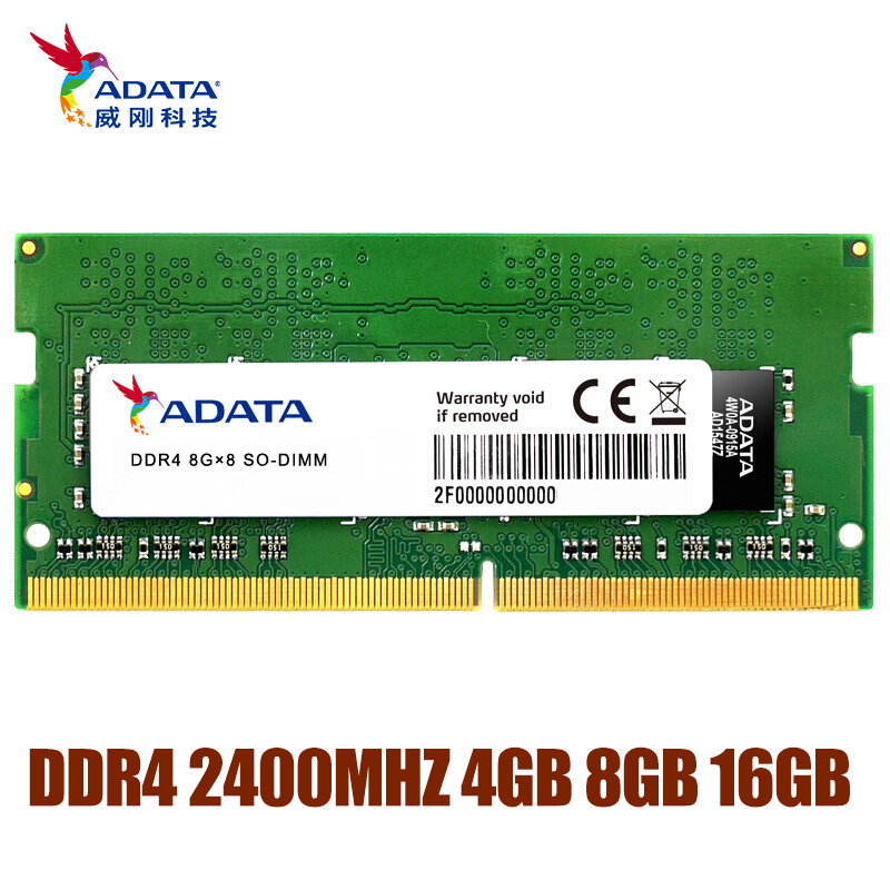 ADATA DDR4 RAM 4GB 8GB 16GB Memoria Module Computer PC4 DDR4 2666MHZ RAM 1.2V For Notebook Laptop