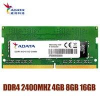 ADATA DDR4 RAM 4GB 8GB 16GB Memoria Module Computer PC4 DDR4 2666MHZ 2400MHZ RAM 1.2V for Notebook Laptop