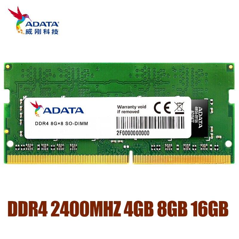 Ram 2666 v do computador pc4 ddr4 1.2 mhz do módulo da memória de adata ddr4 4 4 gb 8 gb 16 gb para o portátil do caderno