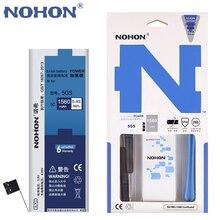 100% Оригинальные NOHON 1560 мАч Новые Батареи Для Apple iPhone 5S Батареи/5C + Бесплатный Станков