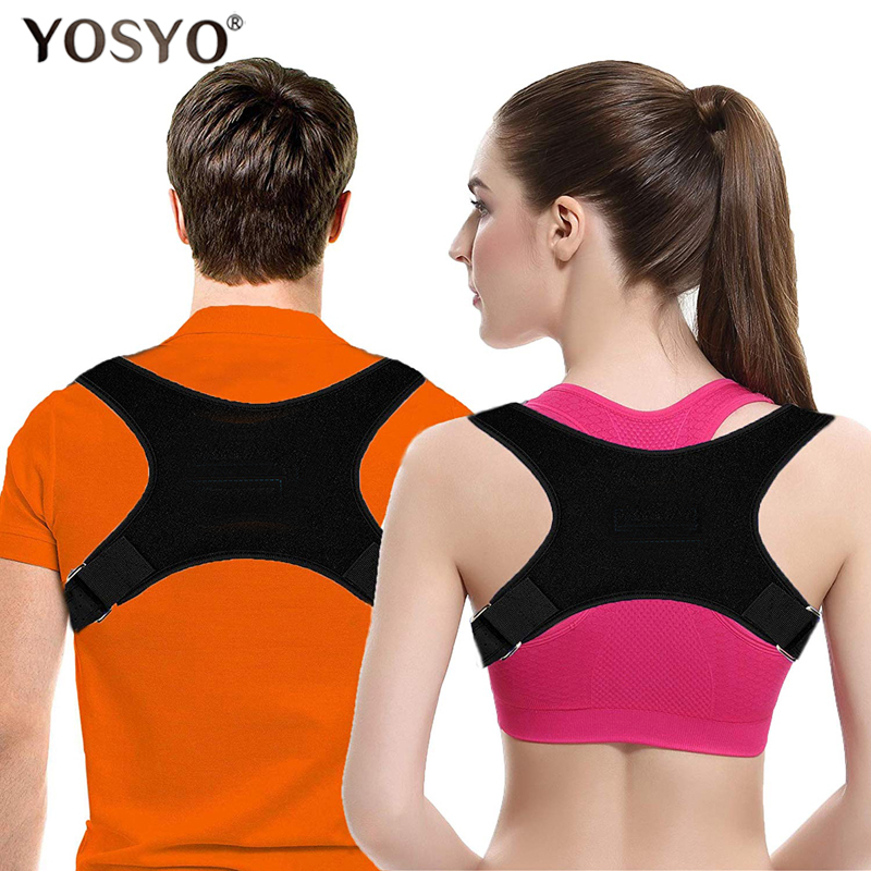 Posture Corrector For Women & Men Adjustable Upper Back Brace For Shoulder And Clavicle Support Best Brace Drop Shipping