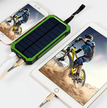 SOODOO Bring A Compass Camping Lights 20000mah Phone Charging Treasure Multi-function Is Three Solar Mobile Power Supply