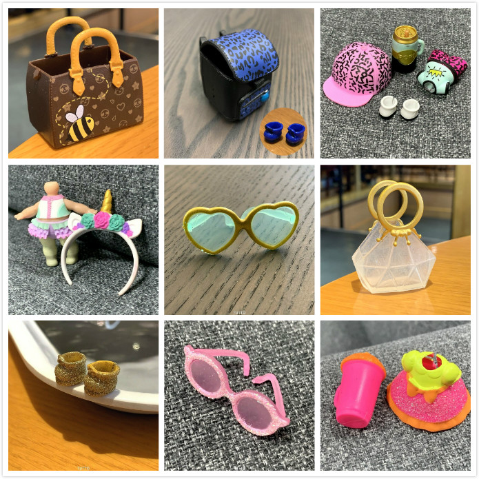BIXE Original Limited LOL Doll Bag Hat Shoes Accessorries Lol Accessories On Sale Original LOL Dolls Collection Drop Shipping
