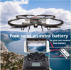 Extra battery Wifi FPV rc drone U818a U919A 6Axis Gyro attitude hold HD Camera Remote Control Helicopter Quadcopter VS X600 X5UW
