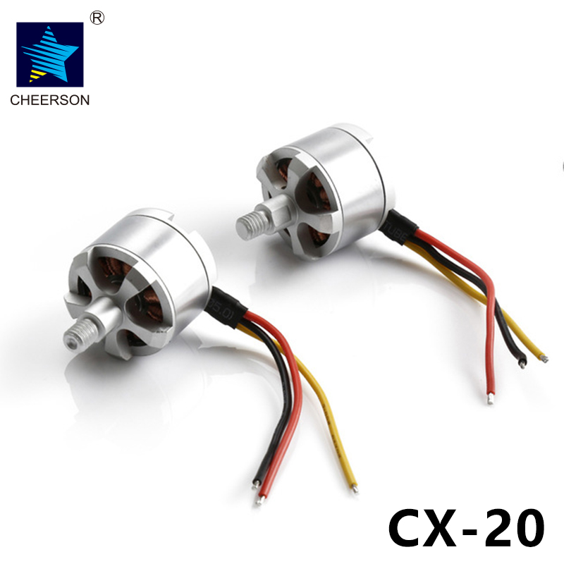 Cheerson CX-20 CX20 RC Quadcopter Parts CCW CW Brushless Motor free shipping oem brushless motor rc quadcopter cw ccw parts without silver black cap for cheerson quadcopter cx20 cx 20