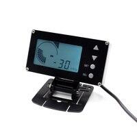 Cnspeed 12 В гоночный автомобиль цифровой EVC ЖК дисплей Дисплей электронный Клапан boost контроллер электромагнитные Клапан электронный Клапан