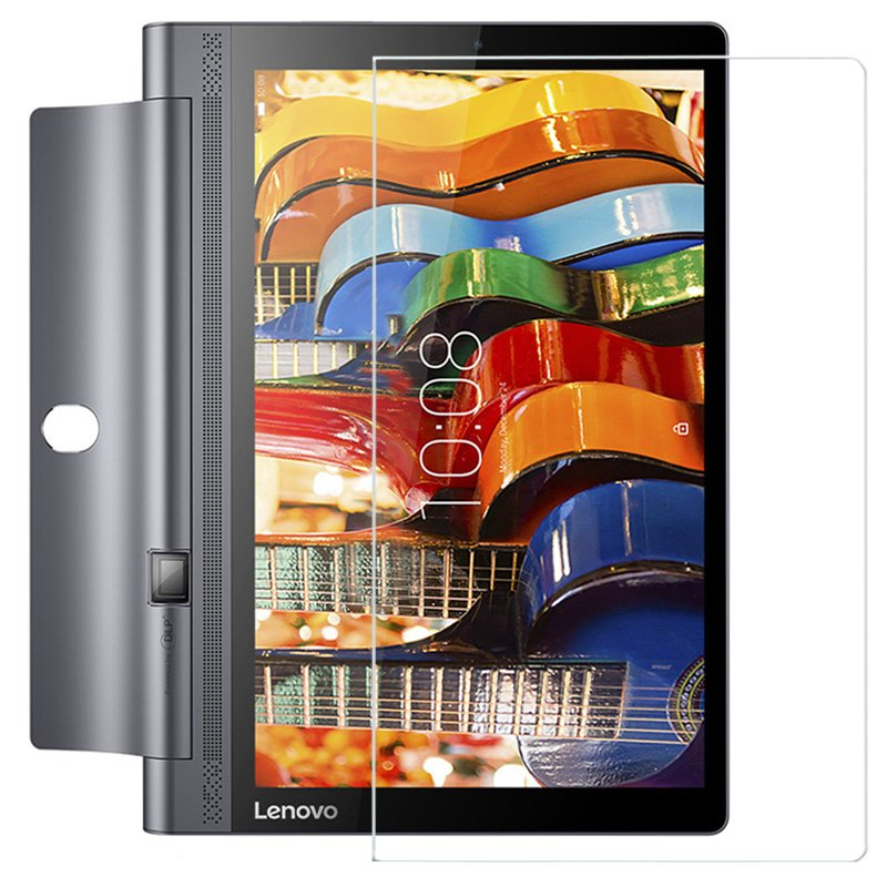 Tempered Glass Screen Protector Film for Lenovo Yoga Tab3 Tab 3 10 X50L X50F X50M YT3-X50F 10.1 Tablet + Dust Stickers yoga tab 3 10 x50l x50m case soft silicone case cover for lenovo yoga tab 3 10 x50 yt3 x50l x50m 10 0 inch tablet stylus