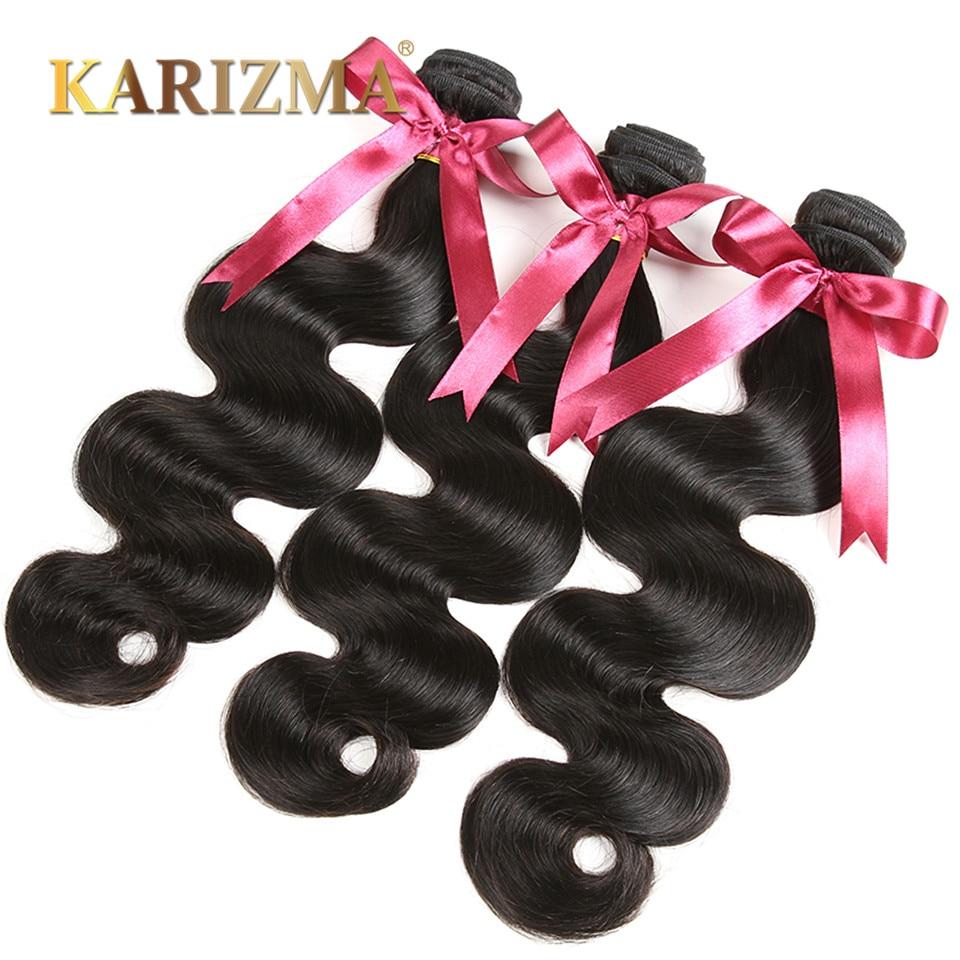 Indian Virgin Hair Body Wave 4 Bundle Deals Raw Indian Hair 10A Unprocessed Indian Body Wave Human Hair Indian Wavy Virgin Hair