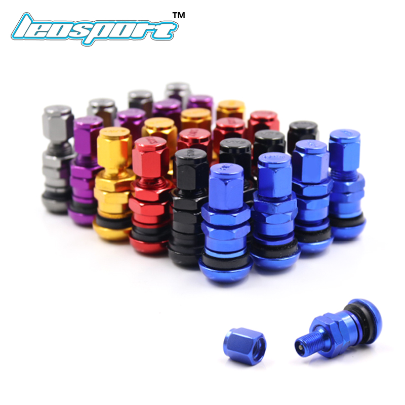 For Rays Aluminum Valve Metal Wheel Tire Valve Stem Cap Air Cover 4pcs A Set