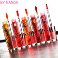 By Nanda Sweet Kiss Stained Lips Professional Makeup Waterproof Liquid Lipstick Long-Lasting Moisturizer Lip Gloss 6pcs/lot