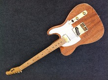 Customized  Albert Collins Signature TL electric guitar gold hardware mahogany body can change the logo
