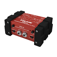 NUX PDI 2 Transformer Isolated DI Box For Guitar Bass And Other Music Instruments Switchable Ground