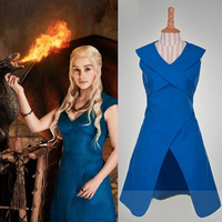 A Song Of Ice And Fire Daenerys Targaryen Cosplay Costume Movie Costume For Women Fancy Dress
