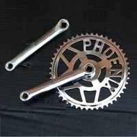 26inches 28 inches bike Vintage road Bike Crankset Cruisers bike single speed Chainwheel steel 48T 170 mm Crank