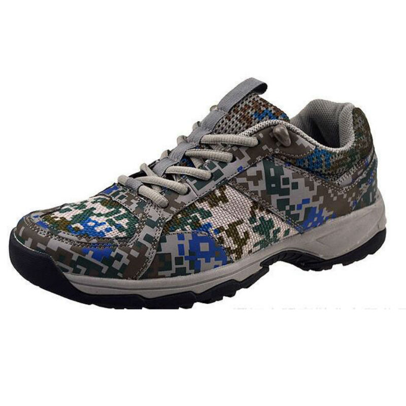 Free Shipping 2017 New Arrival Light Mesh camouflage Running Shoes men High quality Outdoor Male Wear resisting run shoes