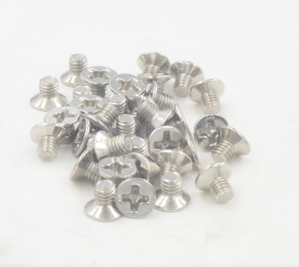 100Pcs Sunk Screw 3.5 Thread For Computer Hard Disk Drive HDD Screw 6#32100Pcs Sunk Screw 3.5 Thread For Computer Hard Disk Drive HDD Screw 6#32