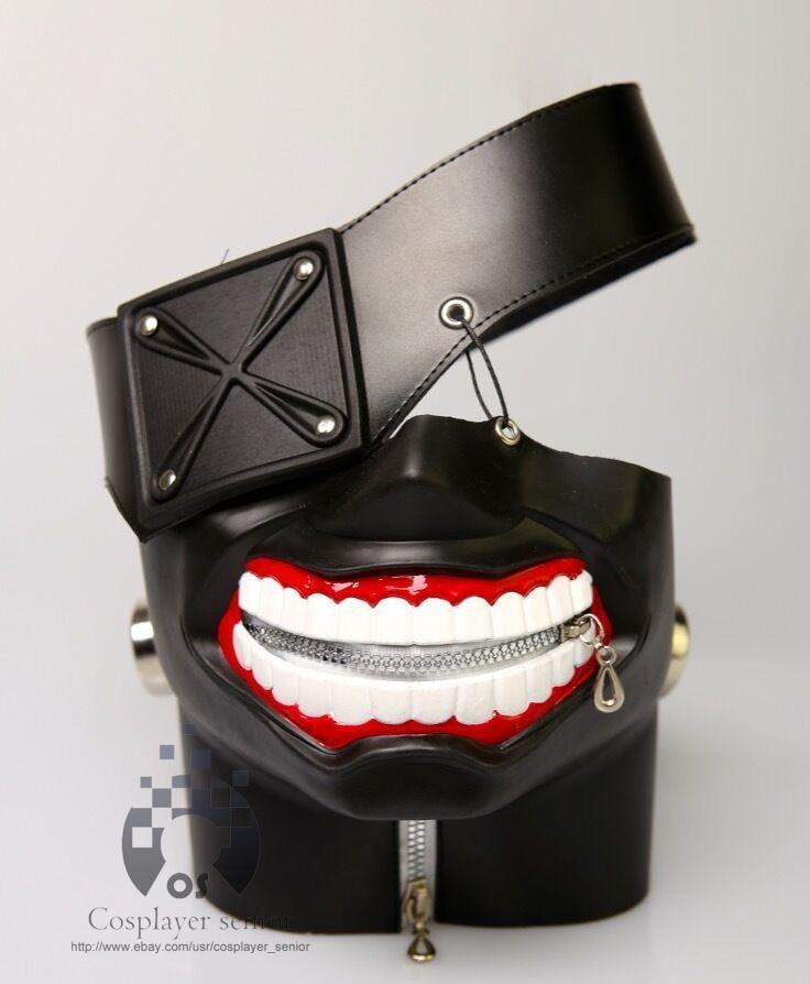 New Version Luxury LATEX Tokyo Ghoul Ken Kaneki mask with Adjustable ...