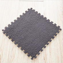 6 Piece/Lot Magic Jigsaw Rug 30 * 30cm Living Room Bedroom Soft Patchwork Carpet Splice Non-slip EVA Foam Kids Crawl Mat