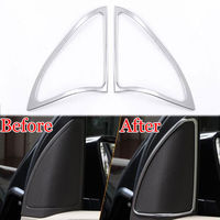 2x Front Triangle Door Stereo Speaker Audio Sound Cover Trim Frame For A180 A200 Car