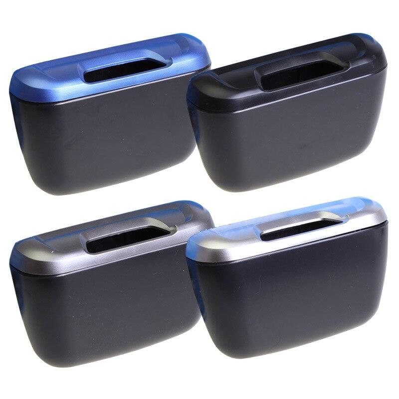 Mini Office Home Car Waste Trash Rubbish Bin Can Garbage Dust Case Holder LH