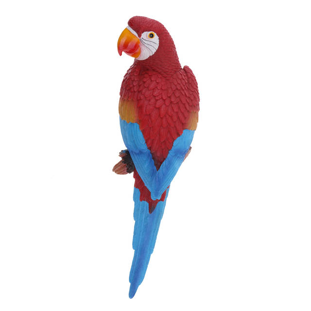 Us 15 71 44 Off 20 Style Artificial Bird Resin Large Parrot Statue Yard Tree Lawn Ornament Hanging Sculpture Decoration Home Garden Craft In