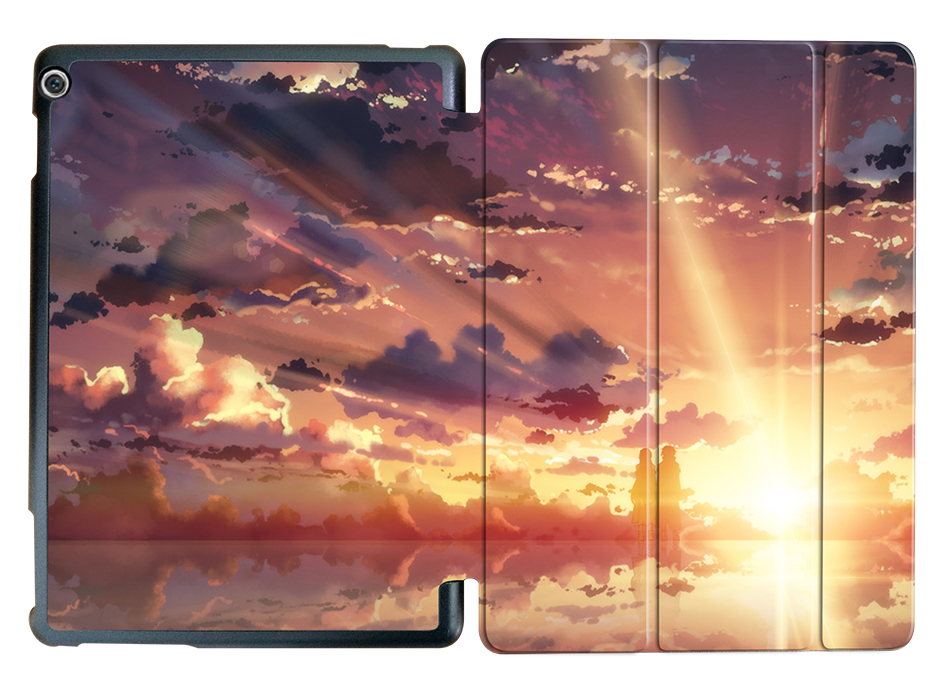 Anime Sky Case For Media Pad M3 Lite 10 Slim PU Leather Smart Cover Case For Huawei Mediapad M3 Lite 10.1'' BAH-W09 BAH-AL00