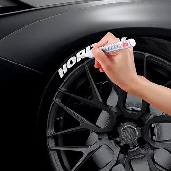 1 Piece Car Paint Pen Waterproof Car Wheel Tire Oily Painting Mark Pen Auto Rubber Tyre Tread CD Metal Permanent Paint Marker