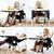 Frete grátis russo Crianças Multifuncionais Cadeira Dobrável Portátil Assentos de carro Do Bebê Cadeira Mesa de Jantar comida