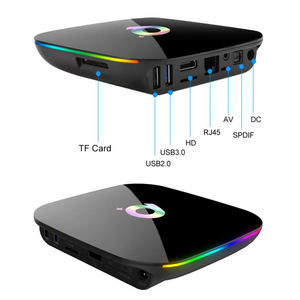 Image 4 - Q PLUS Allwinner H6 6K مربع التلفزيون الذكية أندرويد 9.0 4GB 64GB 32GB رباعية النواة USB3.0 Playstore يوتيوب Q زائد واي فاي تعيين صندوق علوي PK T95Q