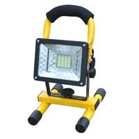 Waterproof IP65 SMD3528 24LED 3models 30W LED Flood Light Portable SpotLights Rechargeable Outdoor LED Work Emergency