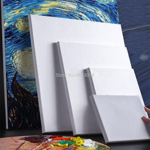 Wood-Frame Oil-Painting Artist Canvas Wholesale Cotton Primed-Oil 5pcs for Professional