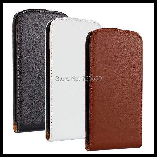 Genuine Leather Case for HTC One M8 Flip Cover +Free Screen Protector