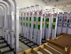 Selbst service Elektronik Und Maschinen Messen Körper Gewicht Höhe Und BMI Münze Gewicht Skala