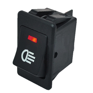 Image 5 - 4 sztuk 12V 35A uniwersalny światło przeciwmgielne samochodu przełącznik kołyskowy LED Dash Dashboard 4Pin