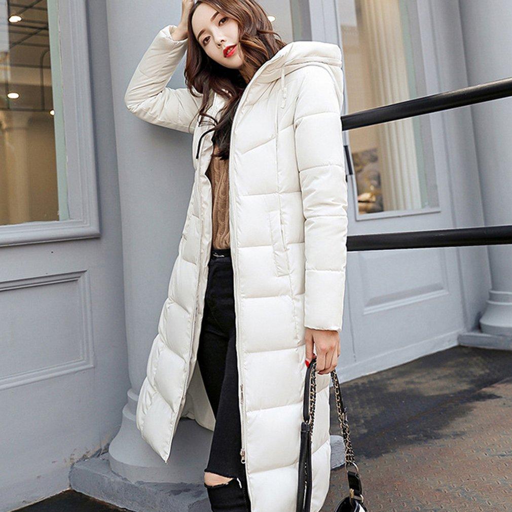 Plus Size Winter   Coat   Thickened Women Stitching Slim Long Winter   Coat     Down   Cotton Ladies Jacket Women 2018 Cotton Chaqueta Mujer