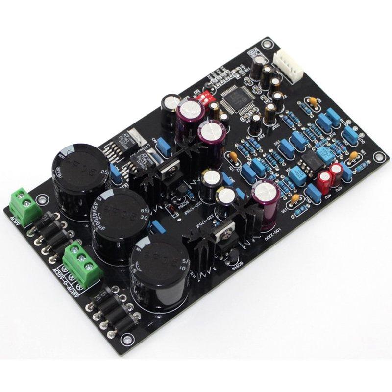 Upgraded version of Assembled hifi AK4495EQ SEQ II2S DAC board support 32BIT 768K decoder op amp AD827, LT1963-3.3Upgraded version of Assembled hifi AK4495EQ SEQ II2S DAC board support 32BIT 768K decoder op amp AD827, LT1963-3.3