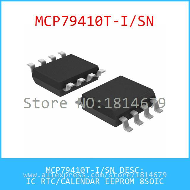 HH:MM:SS MICROCHIP RTC IC SOIC-8 128x8 DD:MM:YY MCP79410-I//SN