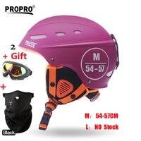 MOON Pink Women Skateboard Ski Snowboard Helmet Integrally Molded Ultralight Breathable Skiing Helmet CE Quality