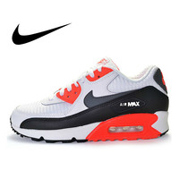 Original Authentic New NIKE Men's AIR MAX 90 ESSENTIAL Men's Running Shoes Sports Outdoor Sneakers Shock Absorbing 537384 126