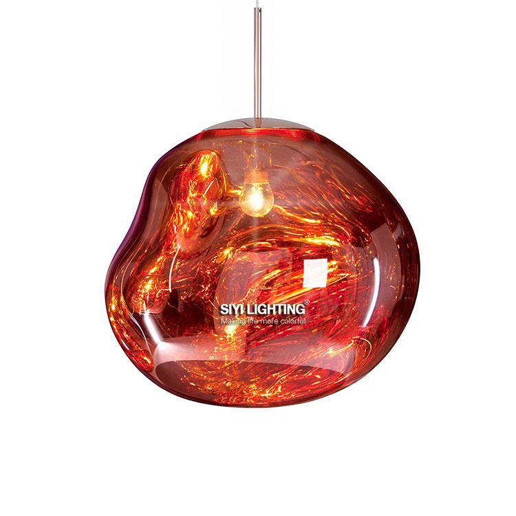Comtemprary Дизайн расплава подвесной светильник для Обеденная Гостиная Ресторан