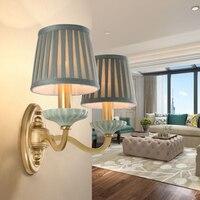 ネオクラシカル銅壁ランプのリビングルームの背景の壁ランプ寝室のベッドサイド主導壁ライト浴室ライト器具ホーム ウォールランプ    -